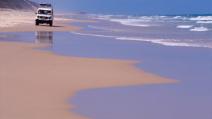 four wheel drive hire fraser island