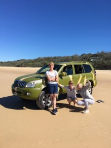 4wd hire Brisbane airport, 4x4 car hire Fraser Island