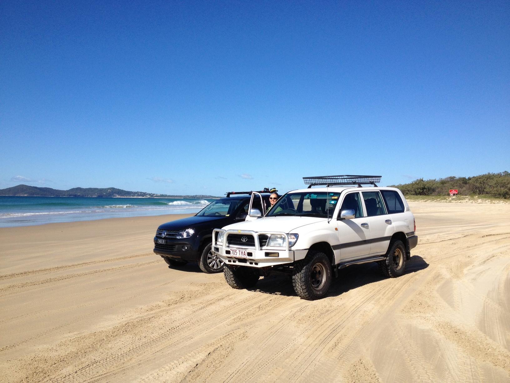 Fraser Island X Car Hire